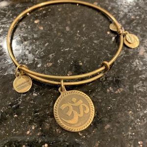 Alex and Ani OM bracelet
